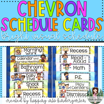 Chevron Schedule Cards