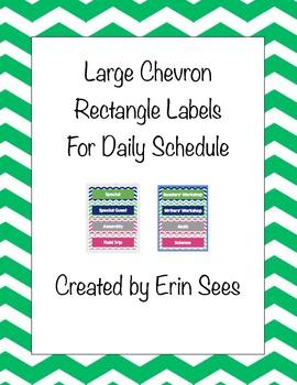 Chevron Schedule Rectangles