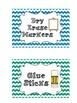 PRINTABLES: Chevron School Supply Labels