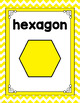 Chevron Shape Posters-Classroom Decor