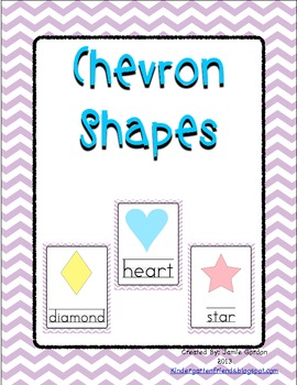 Chevron Shape Posters - Purple