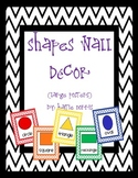 {Chevron} Shapes Wall Decor