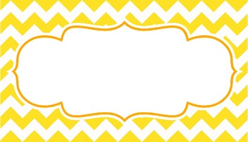 Chevron Signs (Multicolor) - Editable File