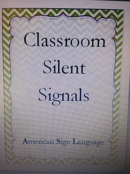 Chevron Behavior Silent Signal Signs