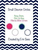 Chevron Small Circle Labels Editable