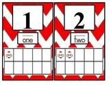 Chevron Sock Monkey Numbers 1-10