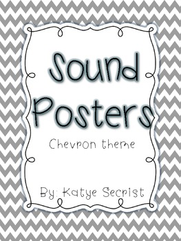 Chevron Sound Posters {Large and Small}