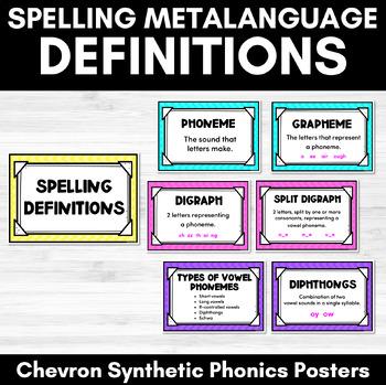 Chevron Spelling Definitions