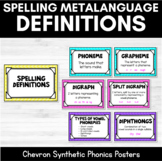 Chevron Spelling Definitions