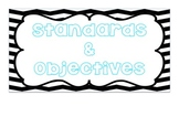 Chevron Standard and Objective Posters