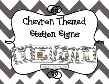 Chevron Station Signs