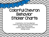 Chevron Sticker Charts
