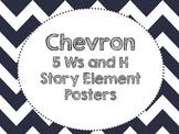 Chevron Story Element Posters