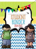 Chevron Student Binder