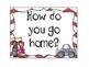 Chevron Student Dismissal Chart (How We Go Home)