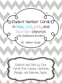 Chevron Student Numbers
