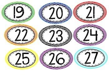 Chevron Student Numbers