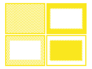 Chevron, Yellow Styles in ppt.