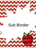 Chevron Sub Binder {Editable}