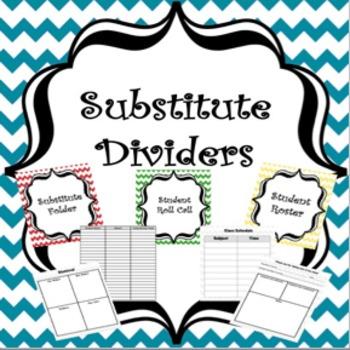 Chevron Substitute Binder