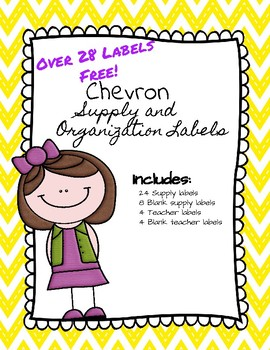 Chevron Supply Labels