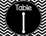 Chevron Table Numbers and Kagan Desk Numbers