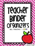 Chevron Teacher Binder Organizers