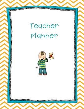 Chevron Teacher Planner Printables