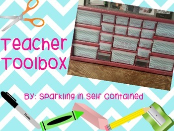 Chevron Teacher Toolbox