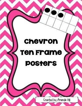 Chevron Ten Frames 0-10