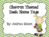 Chevron Theme Desk Name Plates