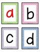 Chevron Letter Cards