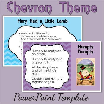 Chevron Theme PowerPoint Template (Commercial Use)