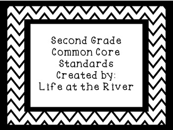 Chevron Themed Common Core Standards