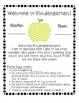 Chevron-Themed School Year Starter Pack (Kindergarten)