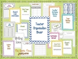 {Chevron Themed} Teacher Organization Binder