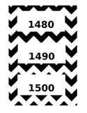 Chevron Timeline Cards