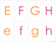 Alphabet Matching Cards with Uppercase, Lowercase and Traceable Cards