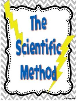 Chevron Vertical Scientific Method Posters