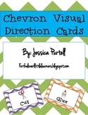 Chevron Visual Direction Cards