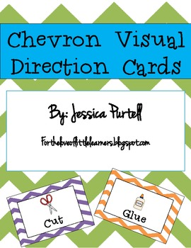 Chevron Visual Direction Cards