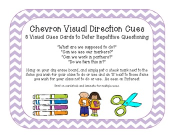Chevron Visual Direction Cues