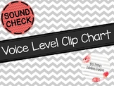 Chevron Voice Levels Clip Chart (Color)