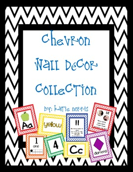 {Chevron} Wall Decor Complete Collection