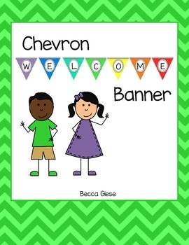 Chevron Welcome Banner