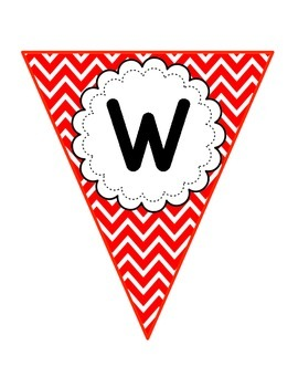 Chevron Welcome Banner {Freebie!}