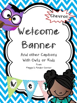 Chevron Welcome Banner with Other Captions