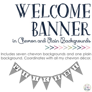 Welcome Banner: Chevron