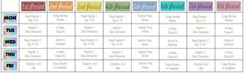 Chevron Whiteboard Labels