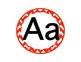 Chevron Word Wall Alphabet Letters